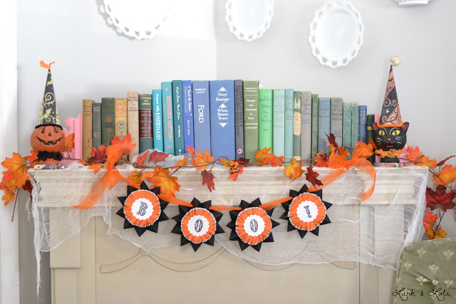 My BOO! garland Halloween decor