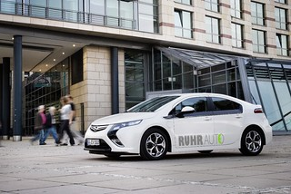 Opel Ampera des Projekts RUHRAUTOe