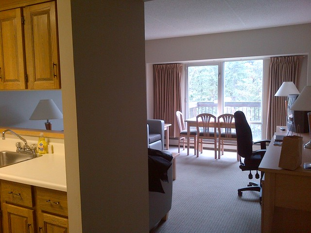 Banff Centre room.
