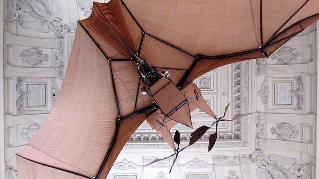 Flying machine at Musée des Arts et Métiers