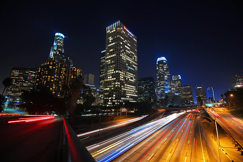 street city longexposure light color building colors beautiful cali skyline architecture night buildings landscape landscapes colorful pretty cityscape cities cityscapes socal alifornia