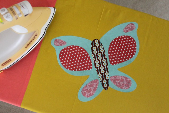 Butterfly Curtain Applique