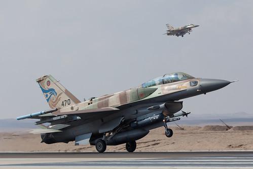 IAF F-16I Sufa twins touchdown