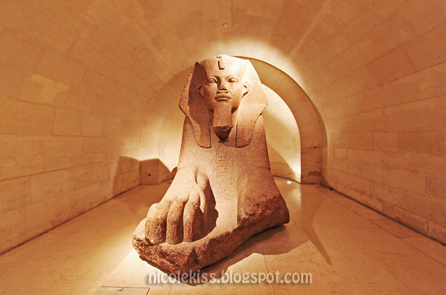 Paris The Louvre_The Spinx