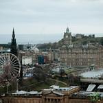 Edinburgh New Town and Ferris Wheel