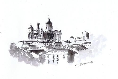 2013.01 vista de Évora