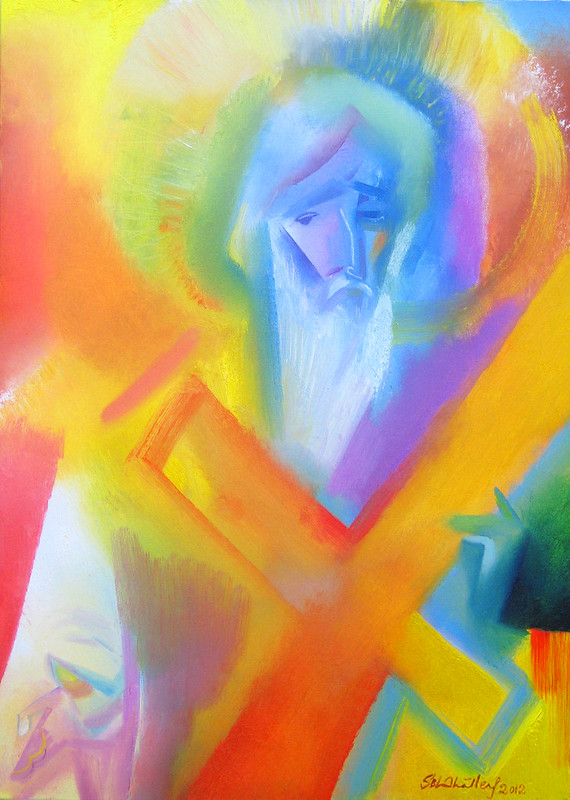 Saint Andrew. 2012 by Stephen B Whatley