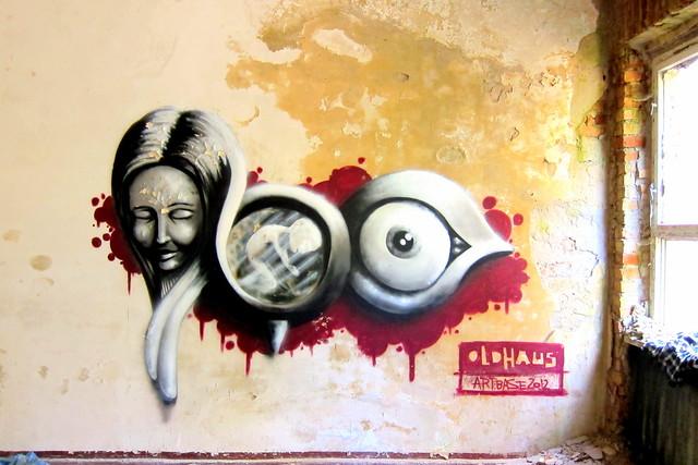 graffiti - oldhaus | klosterfelde . artbase 2012