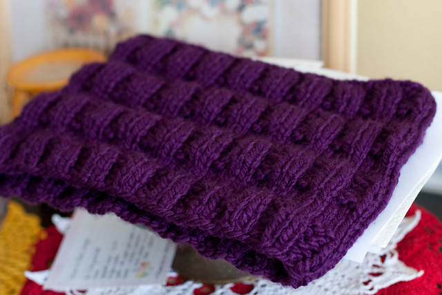 Thick & Quick Ribbed Cowl