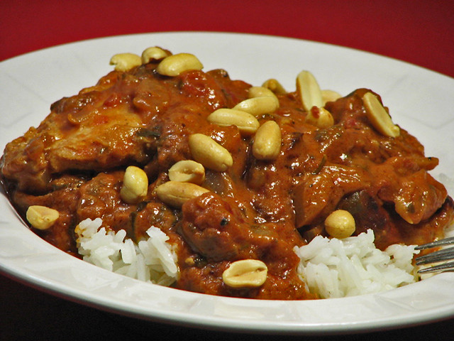 Botswanan Chicken Groundnut Stew