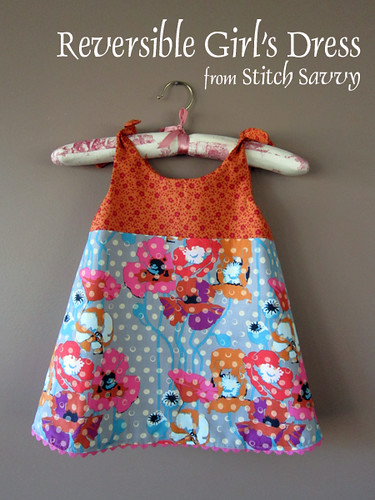 Reversible Girl's Dress