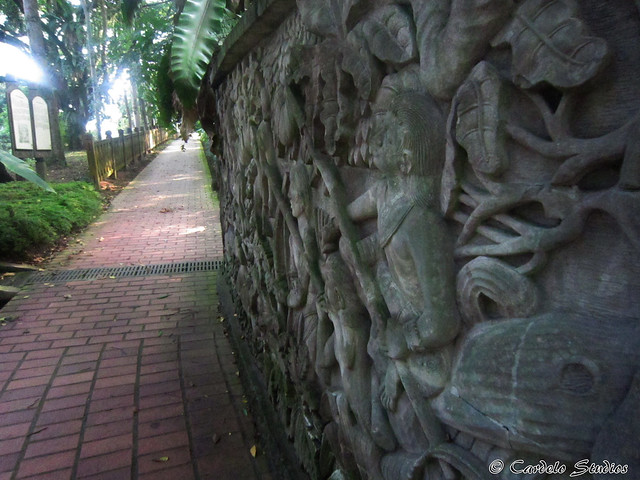 Fort Canning - Mural Wall 01
