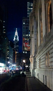 Chrysler Building from NY Public Library