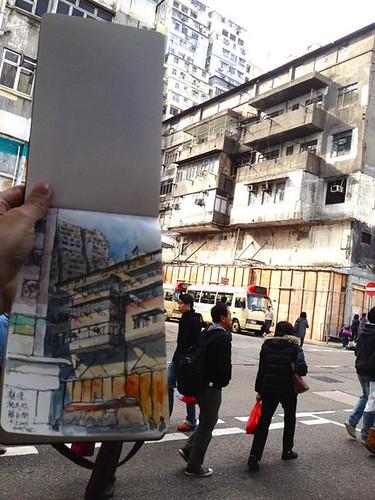 Vacant Building in Yue Man Fong, Kwun Tong 裕民坊待拆唐樓