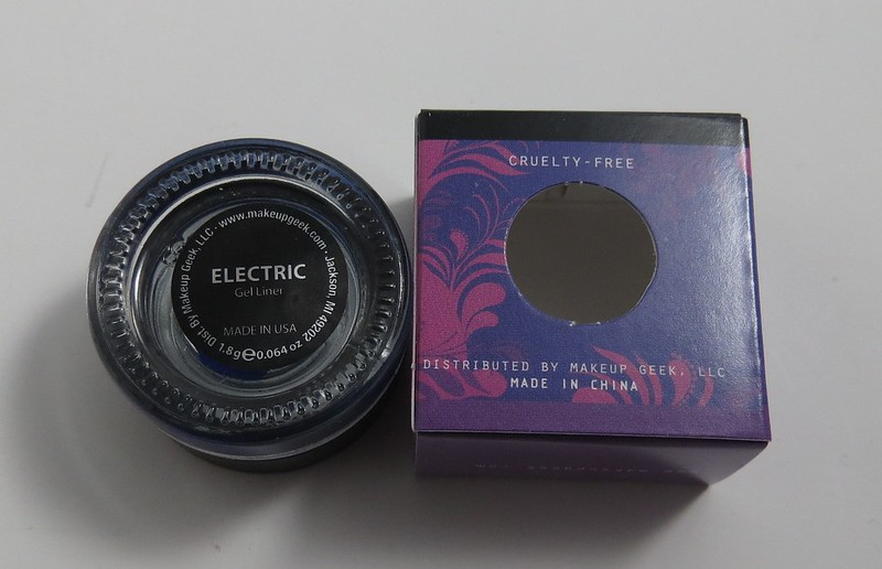 Makeupgeek Electric Gel Eyeliner