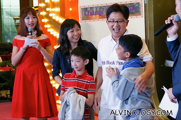 A very happy family
