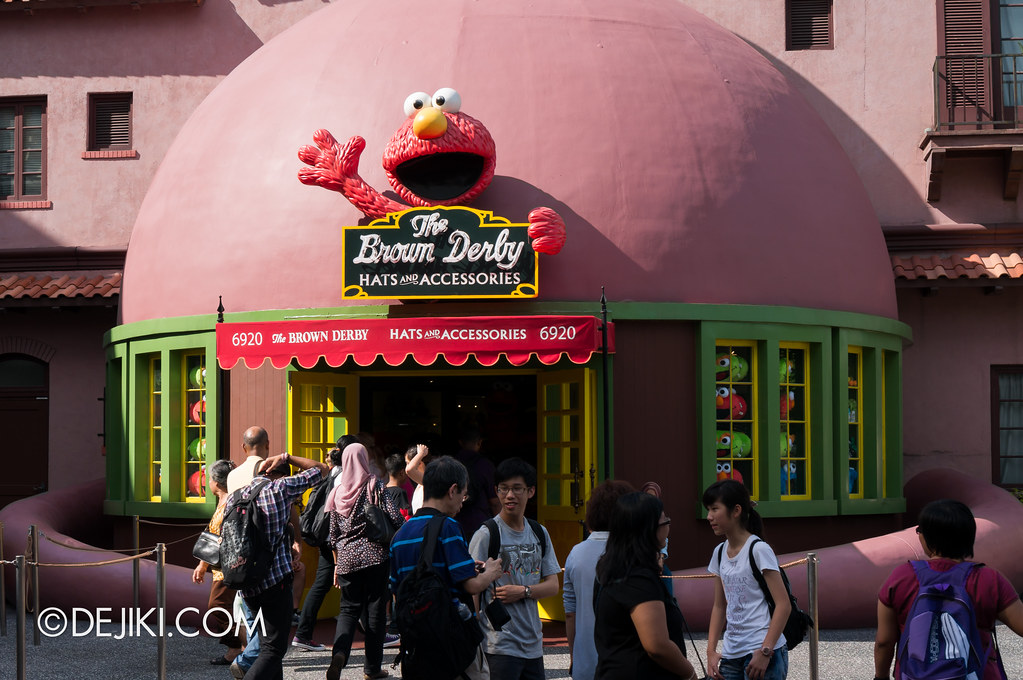 The Brown Derby - recoloured for Sesame Street 2