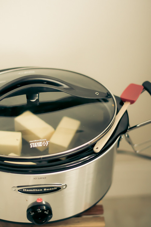 Making ghee in a slowcooker