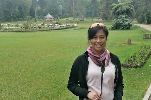 Queenie in Victoria park, Nuwara Eliya
