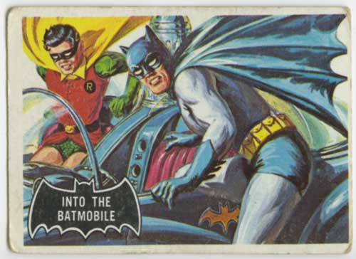 1966 Topps Batman Batmobile