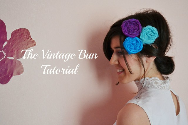 The vintage bun tutorial