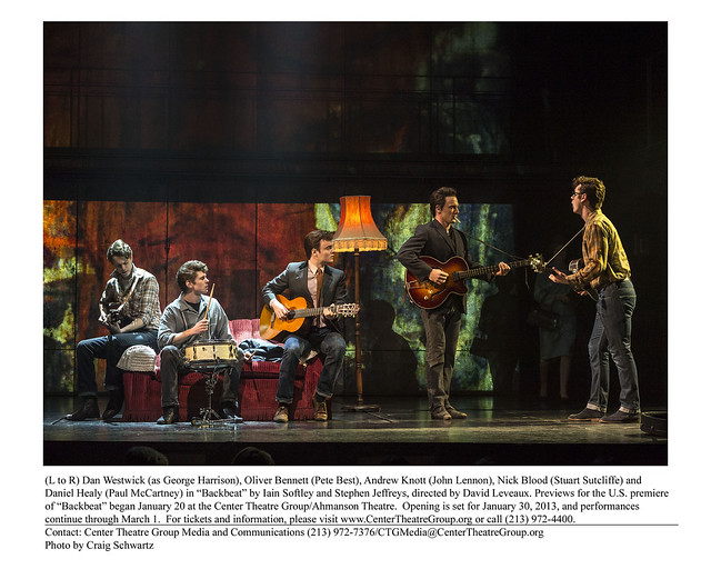 Backbeat Production at Ahmanson Theatre