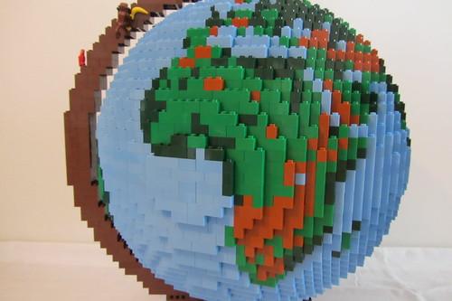 dirks LEGO globe - closeup 03 africa