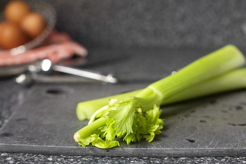 sad old celery from the back of the fridge