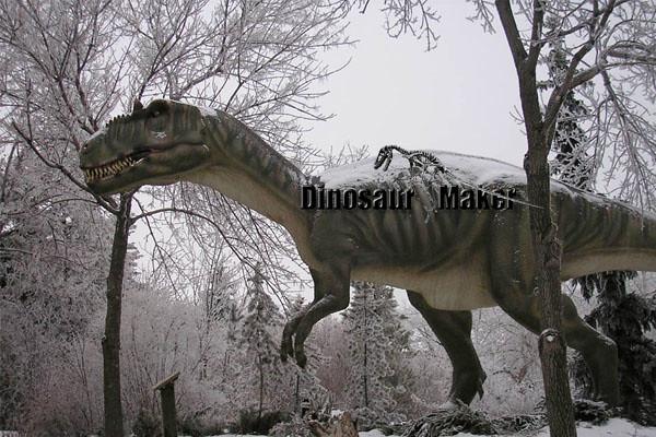 Animatronic Dinosaur Allosaurus