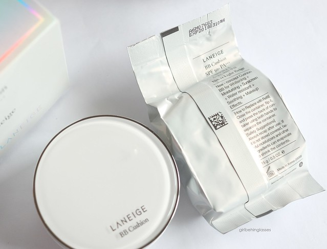 Laneige BB Cushion SPF50+ PA+++5
