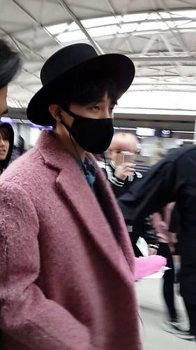 Big Bang - Incheon Airport - 21mar2015 - G-Dragon - Hi GD - 06