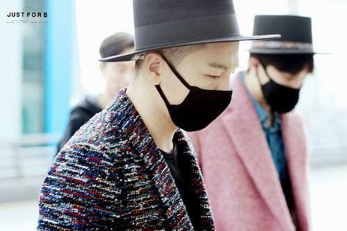 Big Bang - Incheon Airport - 21mar2015 - Tae Yang - Just_for_BB - 07