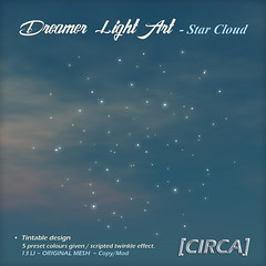 @ SaNaRae ~ Dreamer Light Art - Star Cloud