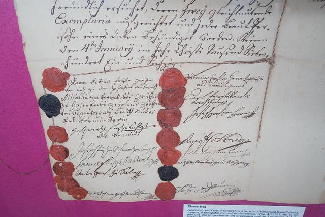 1761 decree with seals