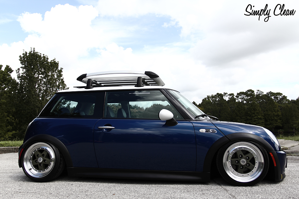 Iphone Pictures Bagged Mini Cooper In The Works