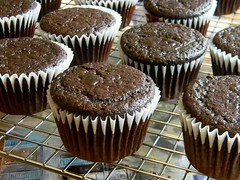 What Smells So Good?: Black Jack Cocoa Cupcakes
