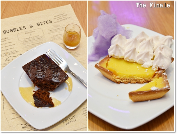 Desserts @ Bubbles & Bites