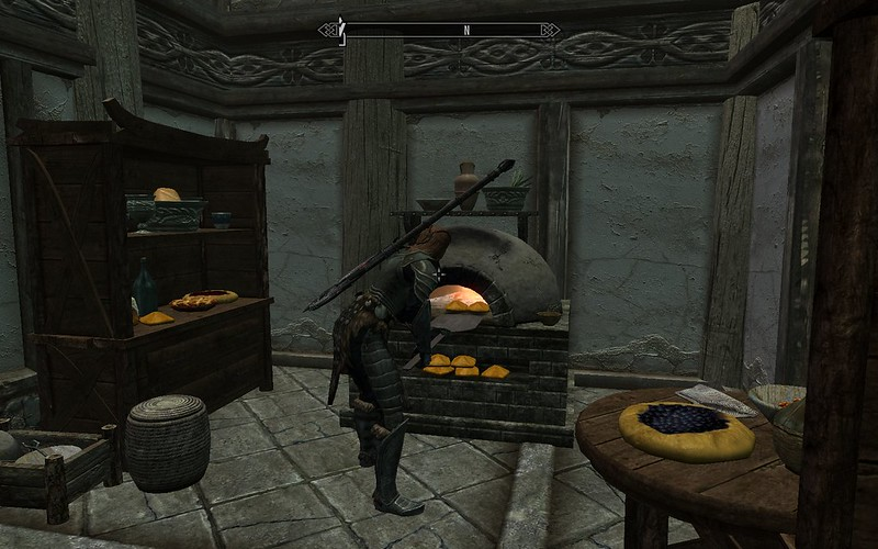 So    Your housecarl should not be your steward? : V - Skyrim