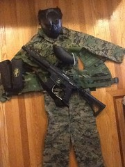 Paintball loadout as of 10/12/12