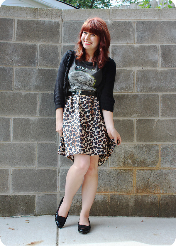 Sezane Skirt Outfit 3 Wearing A With Sneakers