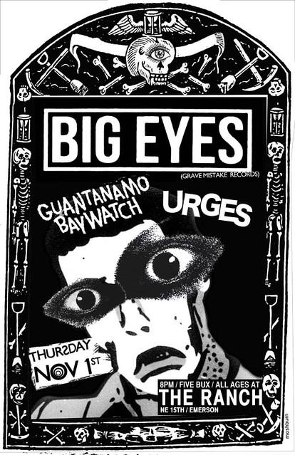 11/1/12 BigEyes/GuantanamoBaywatch/Urges
