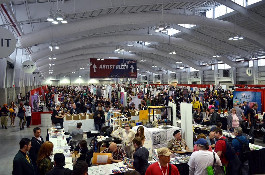 New York Comic Con 2012 Artist Alley