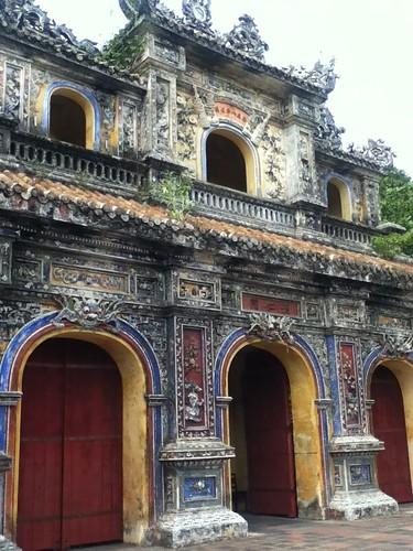 越南顺化皇城侧门