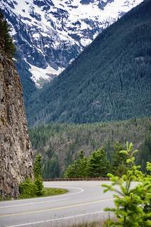 The amazing area around Diablo Lake.  WA State Route 20, North Cascades National Park, WA.