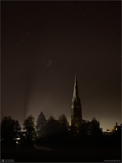 The Pleiades over Maynooth