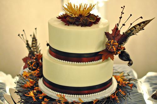 Kim & Brent Wedding Cake
