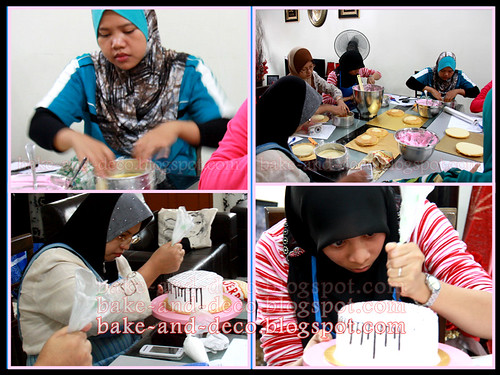 Baking Class: Ice Cream Cake ~ 20 May 2012