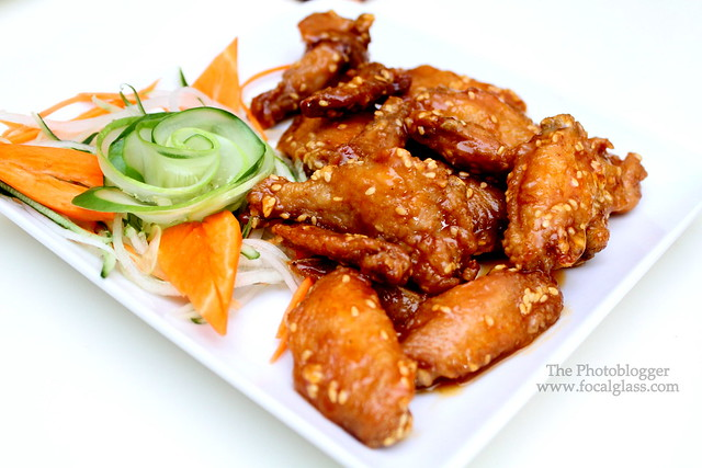 Spicy Glazed Chicken Wings