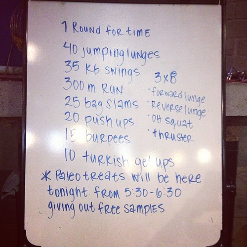 Mondays are fun! #wod #crossfit