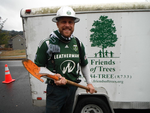 Timbers Help Us Launch Planting Season on Oct. 13